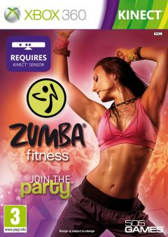 Jaquette de Zumba Fitness Xbox 360