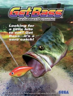 Jaquette de SEGA Bass Fishing Arcade
