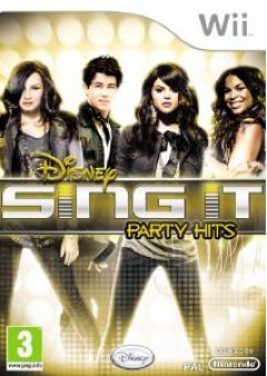 Jaquette de Sing It : Party Hits Wii