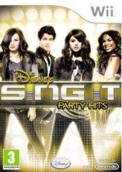 Jaquette de Sing It : Party Hits Wii