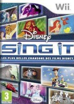 Jaquette de Sing It : Les plus belles chansons des films Disney Wii