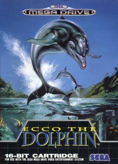 Jaquette de Ecco the Dolphin Megadrive