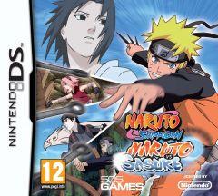Jaquette de Naruto Shippuden : Naruto vs Sasuke DS