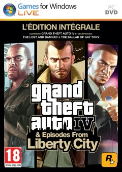 Jaquette de Grand Theft Auto IV & Episodes From Liberty City PC
