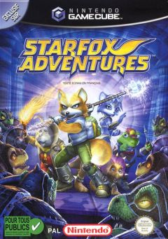 Jaquette de StarFox Adventures GameCube