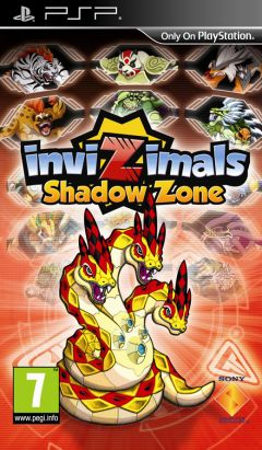 Jaquette de InviZimals : Shadow Zone PSP