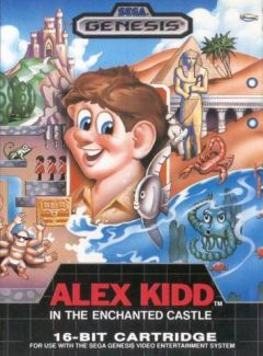 Jaquette de Alex Kidd in the Enchanted Castle Megadrive