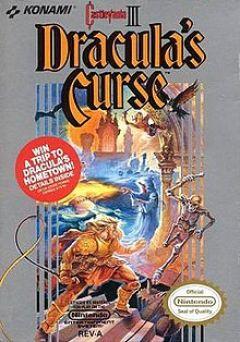 Jaquette de Castlevania III : Dracula's Curse Wii