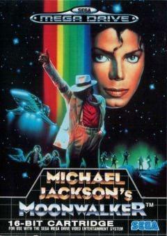 Jaquette de Michael Jackson's Moonwalker Megadrive