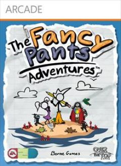 Jaquette de The Fancy Pants Adventures Xbox 360