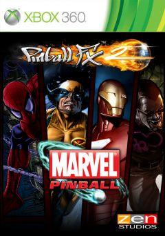 Jaquette de Marvel Pinball Xbox 360