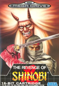 Jaquette de The Revenge of Shinobi Megadrive