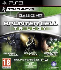 Jaquette de Splinter Cell Trilogy HD PlayStation 3