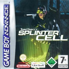 Jaquette de Splinter Cell Game Boy Advance