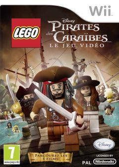 Jaquette de LEGO Pirates des Caraïbes : Le jeu vidéo Wii