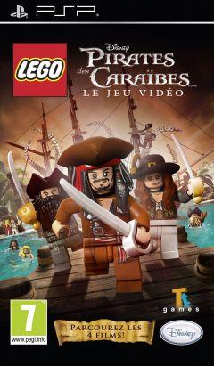 Jaquette de LEGO Pirates des Caraïbes : Le jeu vidéo PSP