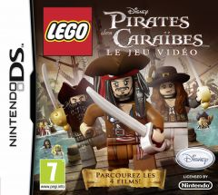 Jaquette de LEGO Pirates des Caraïbes : Le jeu vidéo DS