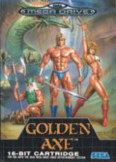 Jaquette de Golden Axe Mega Drive