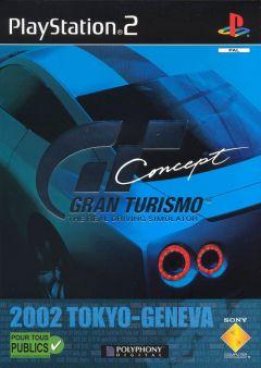 Jaquette de Gran Turismo Concept 2002 : Tokyo - Geneva PlayStation 2