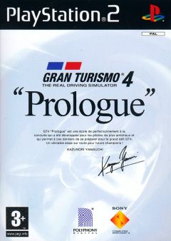 "Jaquette de Gran Turismo 4 ""Prologue"" PlayStation 2"