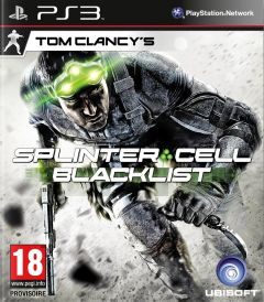 Jaquette de Splinter Cell : Blacklist PlayStation 3