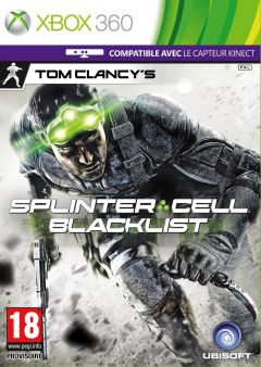 Jaquette de Splinter Cell : Blacklist Xbox 360
