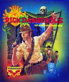 Jaquette de Rick Dangerous Commodore 64