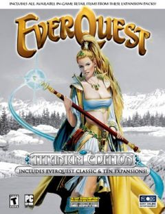 Jaquette de EverQuest PC