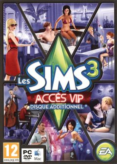 Jaquette de Les Sims 3 : Accès VIP Mac