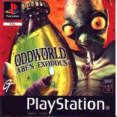 Jaquette de Oddworld : L'Exode d'Abe PlayStation