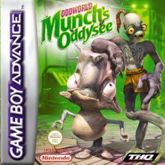 Jaquette de Oddworld : L'Odyssée de Munch Game Boy Advance