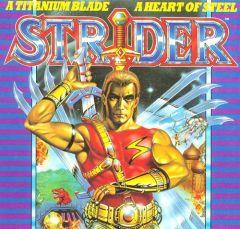 Jaquette de Strider (original) PC