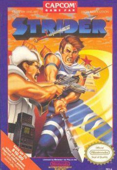 Jaquette de Strider (original) NES