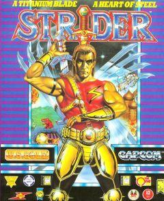 Jaquette de Strider (original) Amiga
