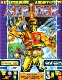 Jaquette de Strider (original) Amstrad CPC