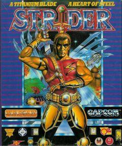 Jaquette de Strider (original) Atari ST