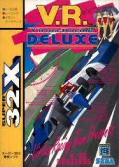 Jaquette de Virtua Racing Mega Drive 32X