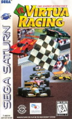 Jaquette de Virtua Racing Sega Saturn