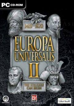 Jaquette de Europa Universalis II PC