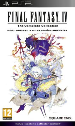 Jaquette de Final Fantasy IV The Complete Collection PSP
