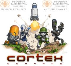 Jaquette de Cortex Command PC