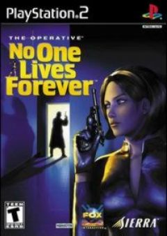 Jaquette de No One Lives Forever PlayStation 2