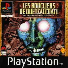 Jaquette de Les Boucliers de Quetzalcoatl - Les Chevaliers de Baphomet II PlayStation