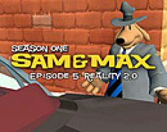 Jaquette de Sam & Max Saison 1 - Episode 5 : Reality 2.0 PC