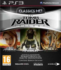 Jaquette de Tomb Raider Trilogy PlayStation 3