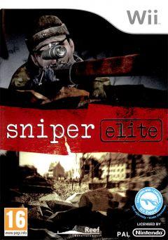 Jaquette de Sniper Elite Wii