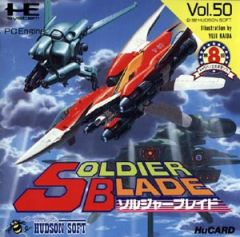 Jaquette de Soldier Blade PC Engine