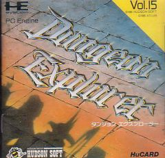Jaquette de Dungeon Explorer PC Engine