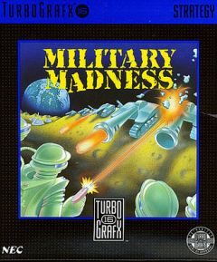 Jaquette de Military Madness PC Engine