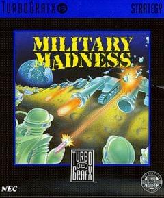 Jaquette de Military Madness PC Engine